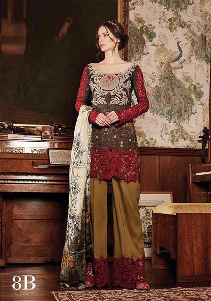 Tabassum mughal dresses 2018 fashion