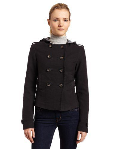 Splendid Womens Double Face Jacket, Dark Grey, Medium Splendid. $79.65. Made in China. Dry clean. Peacoat style. 98% cotton/2% spandex. Hooded