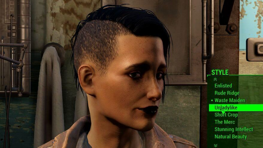 Fallout 4 Womens Hairstyles In 2018 Hairstyles For Curly Hair