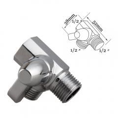 3 Way Solid Brass Diverter Valve Shower Pressue Valve Solid Water