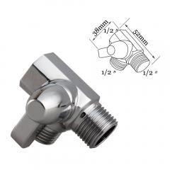 22 off 3way solid brass diverter valve shower pressue valve solid
