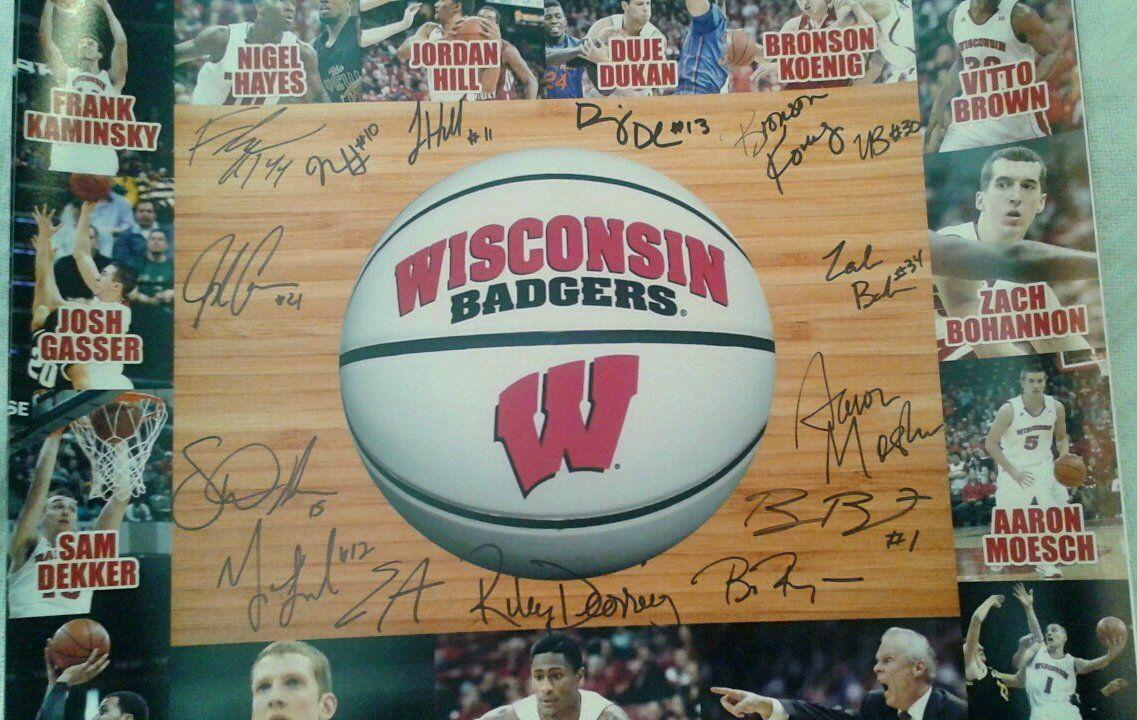 Wisconsin Badgers Men's Basketball 201314 Team