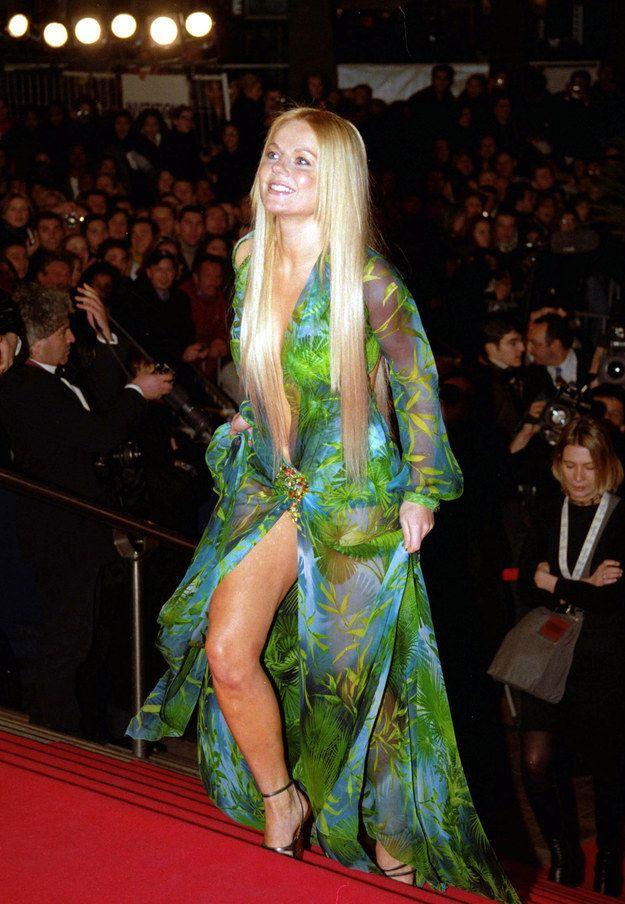 Jennifer Lopez Green Dresses Ginger Spice Wore J.Lo...