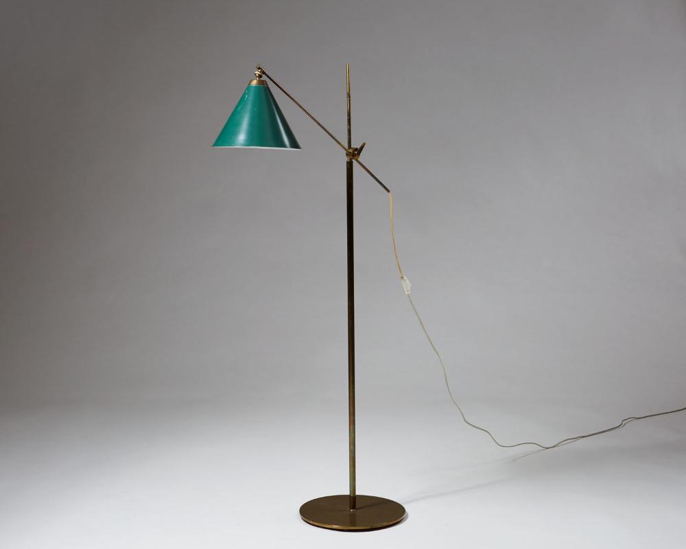 Floor lamp designed by Poul Dinesen, — Modernity