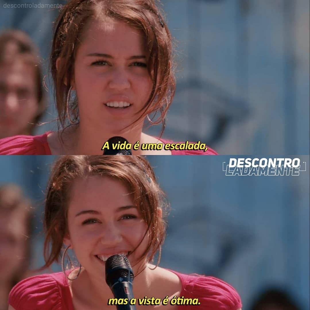 Hannah Montana O Filme Hannah Montana Frases De Filmes Citacoes De Filmes
