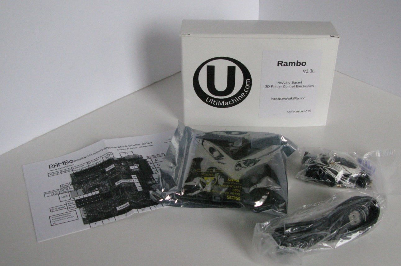New Rambo 1 3l Controller Board Genuine Ultimachine For 3d Printer And Cnc 3d Printer Printer Cartridge Printer