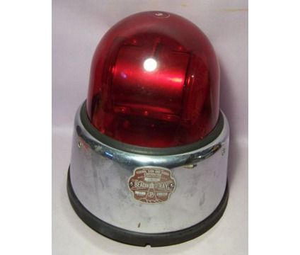 antique fire beacons   Vintage 1960s Beacon Ray Federal ...