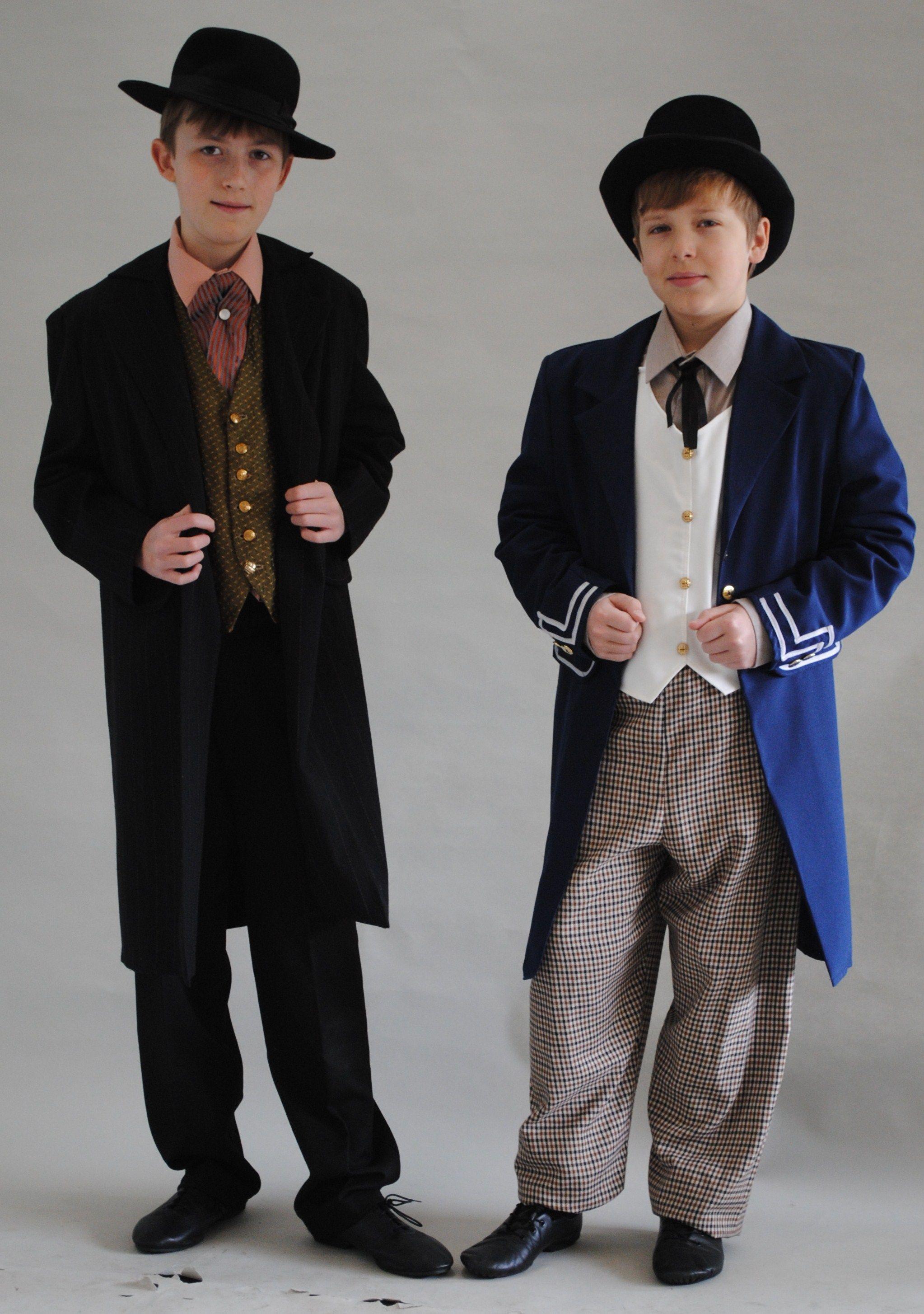 Victorian boy costumes