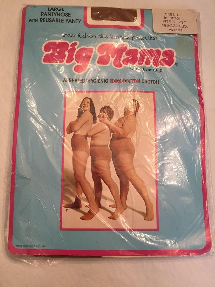 Big mama pantyhose ads
