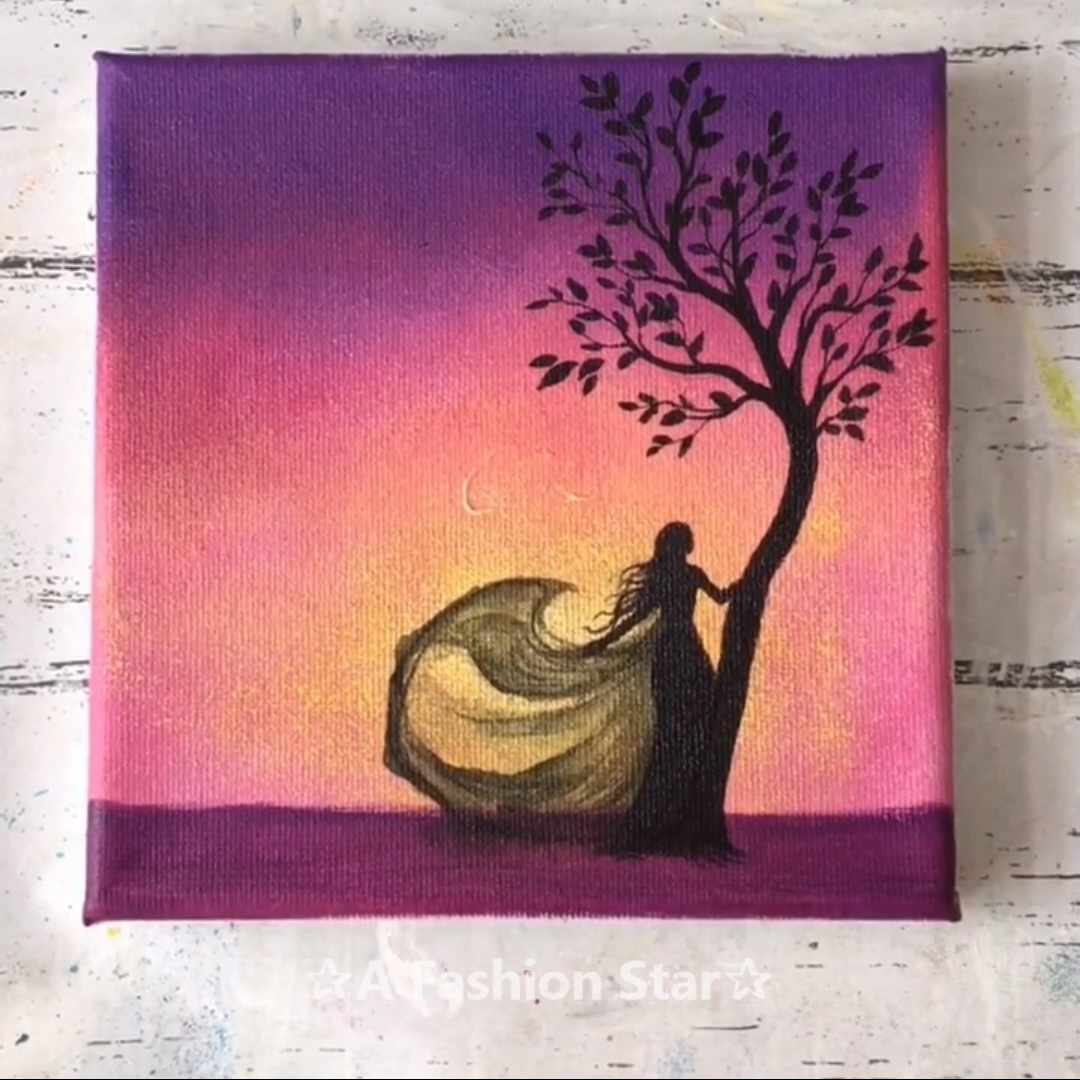 6 Home Decor Painting Ideas Art For Home Dancing Girl Easywatercolorpaintings Are You Looking For Home Decor Painting Ideas You Painting Colorful Art Art