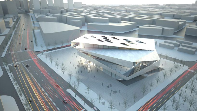 Architects Collective Dalian Planning Museum Urban Planning Architecture Building Design Museum Architect