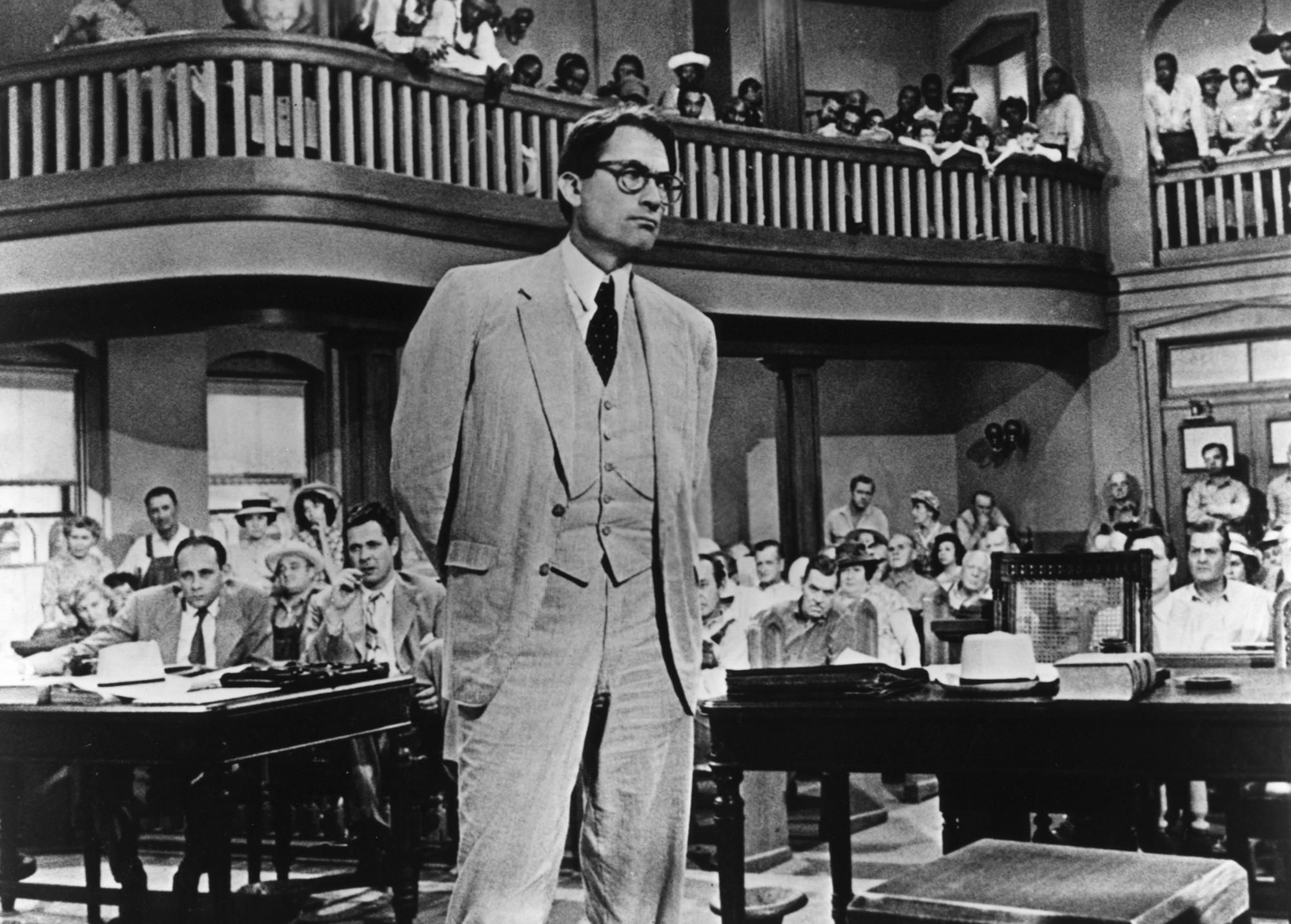 What is an example of suspense created in part 1 of To Kill a Mockingbird?