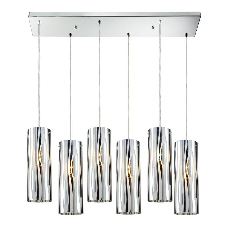 Chromia 6 Light Pendant By Elk Lighting