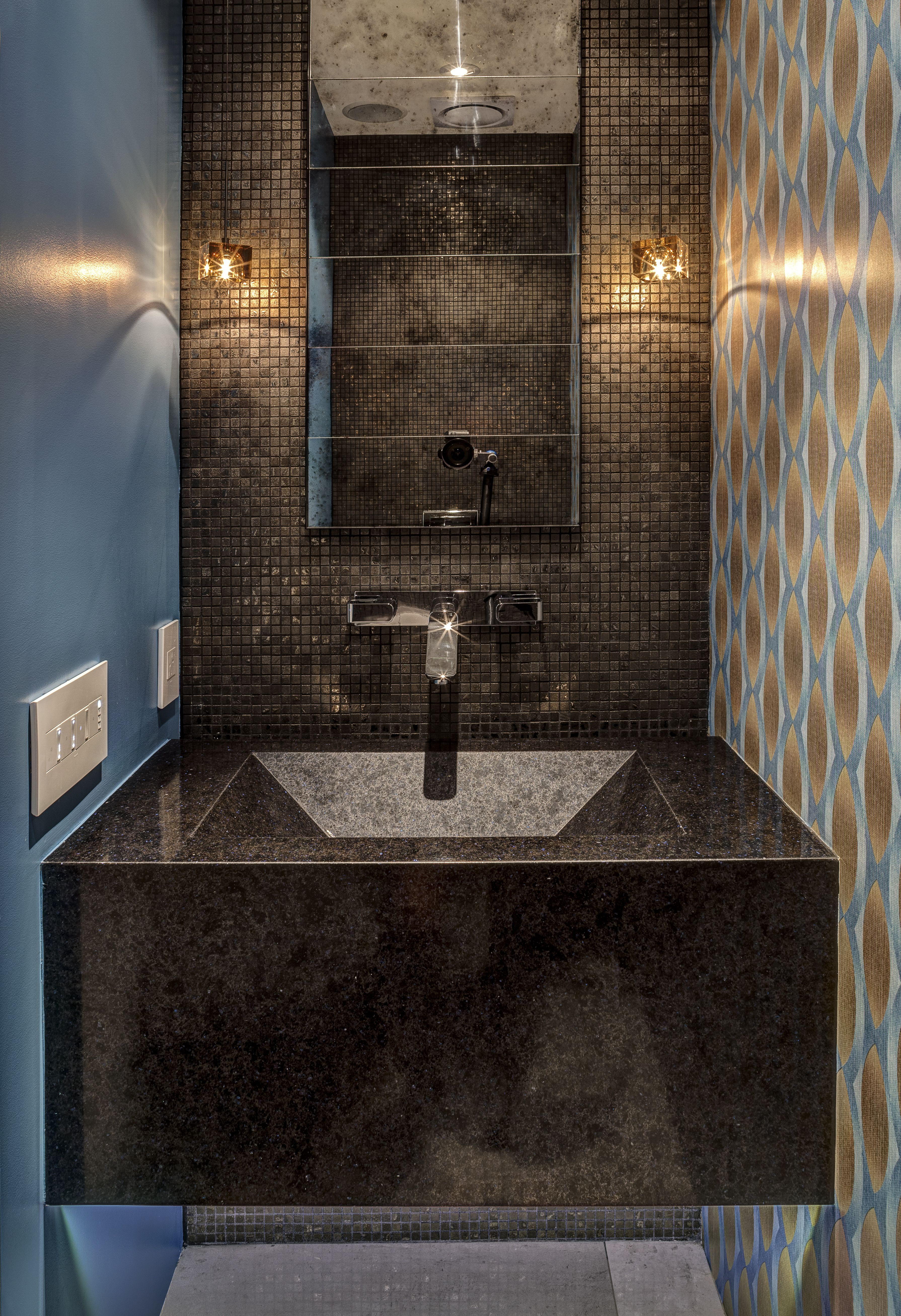 AXOR Urquiola Wall Mounted Faucet for the Powder Bath   Project ...