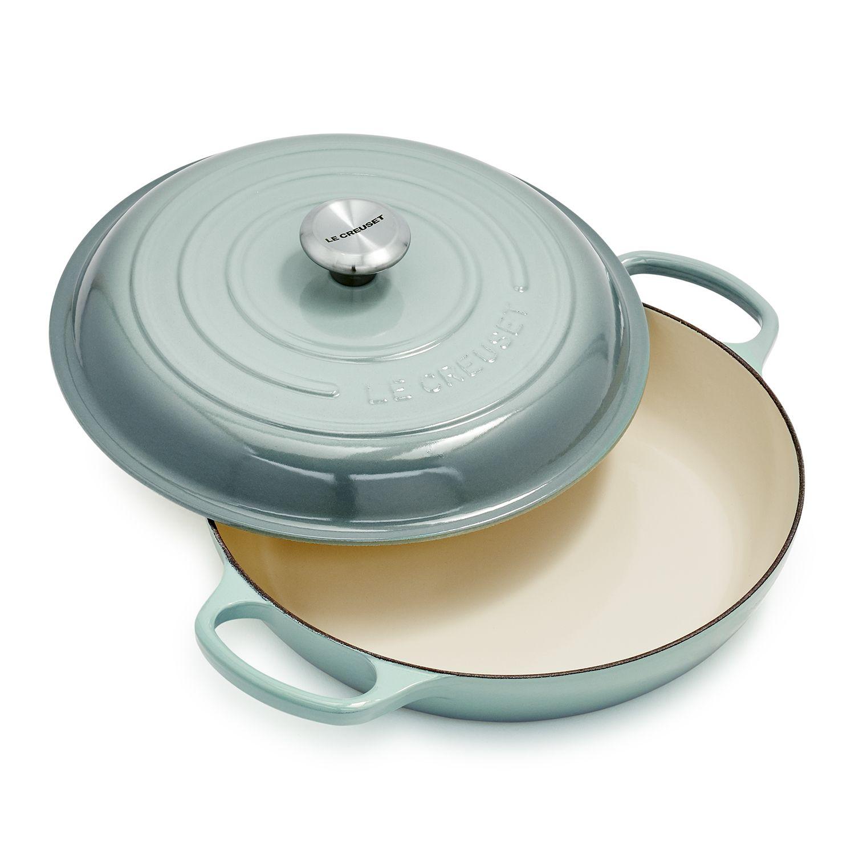 Le Creuset Signature Braiser 3 5 Qt In 2020 Le Creuset Cookware