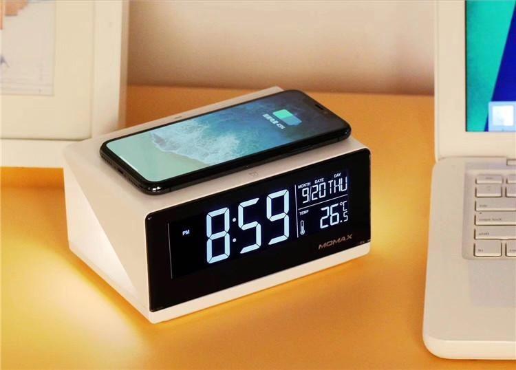 Bedside Alarm Clock With Light