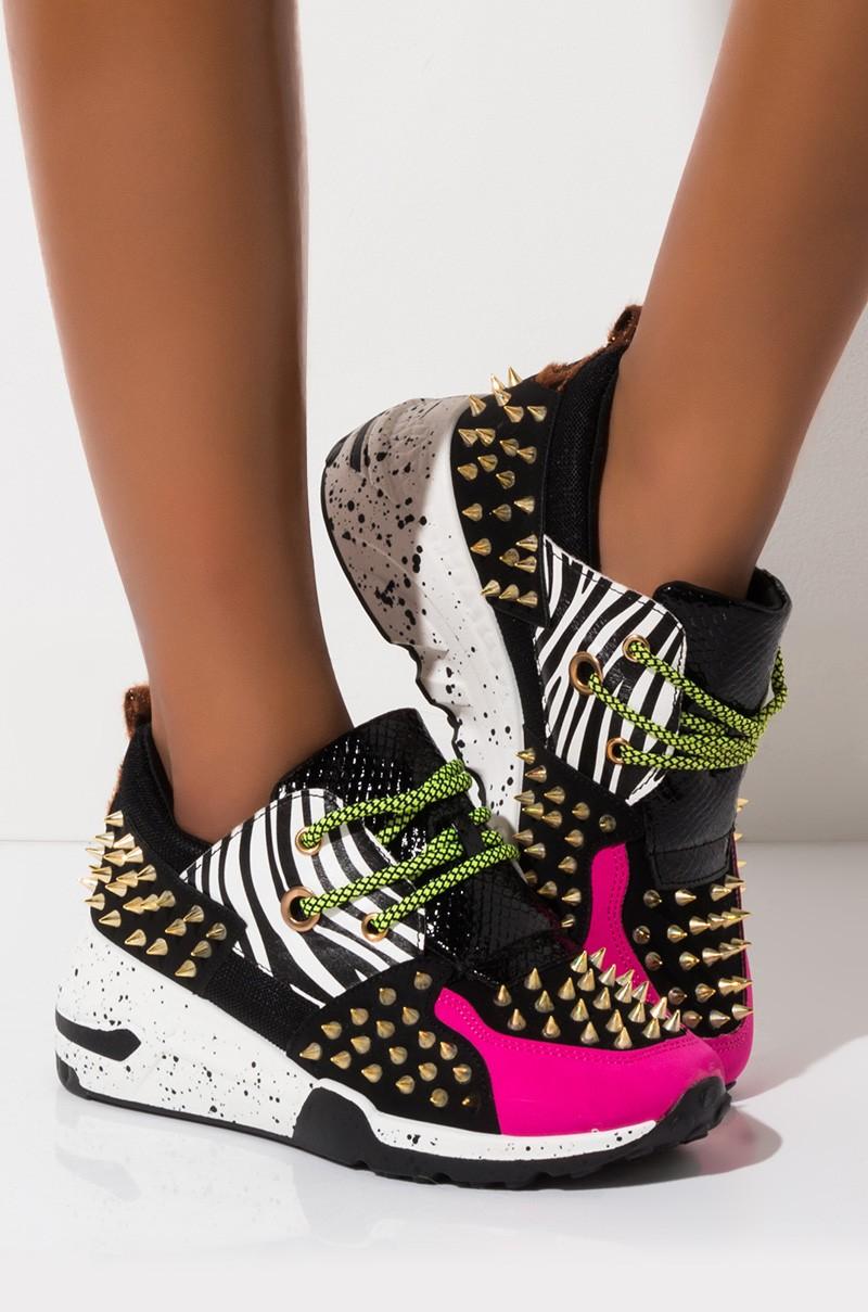 Leopard Women/'s Dad Shoes Leopard Pattern Platform Sneakers Leopard Print Chunky Women/'s Sneakers Leopard Lace Up Sneakers For Women