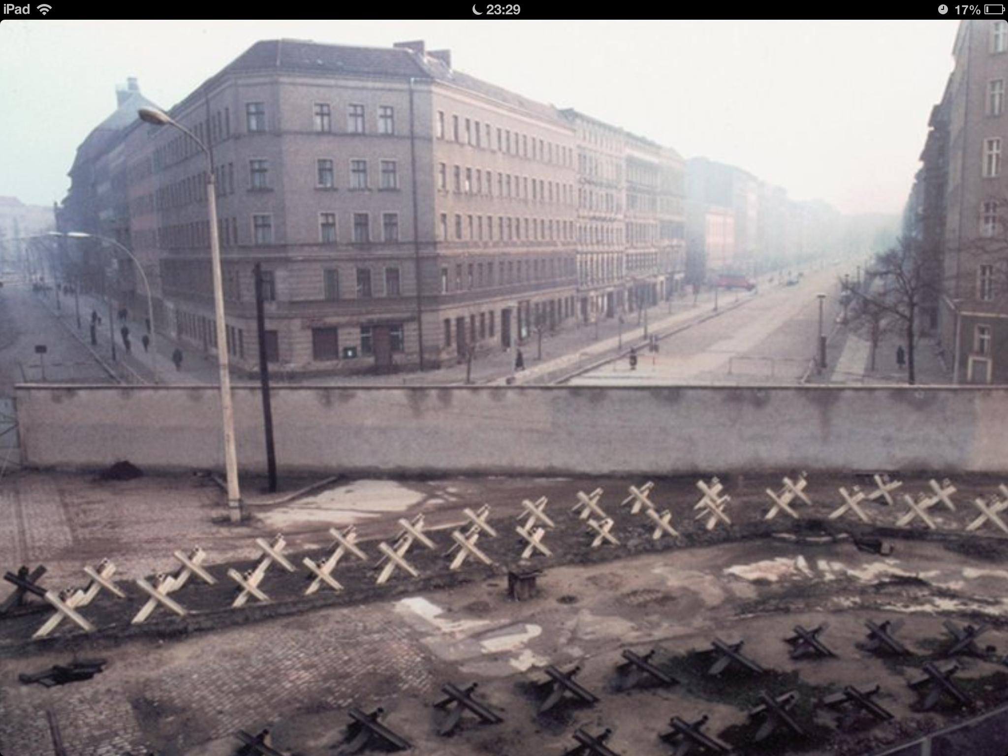 Ecke Bernauerstr Berlin Wall Berlin West Berlin