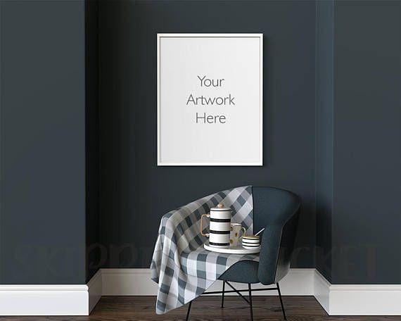 16 X 20 Frame Mockup Poster Frame Mockup Reading Nook 24 X 30