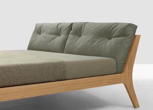 cama tapizada madera | Sillas | Pinterest | Camas tapizadas ...