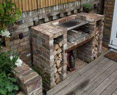 Charming Built In Barbecue   Google Search · LandschaftenGrill  GeziegeltGartendesignGrillentwurfBacksteinbauHausgemachter ...