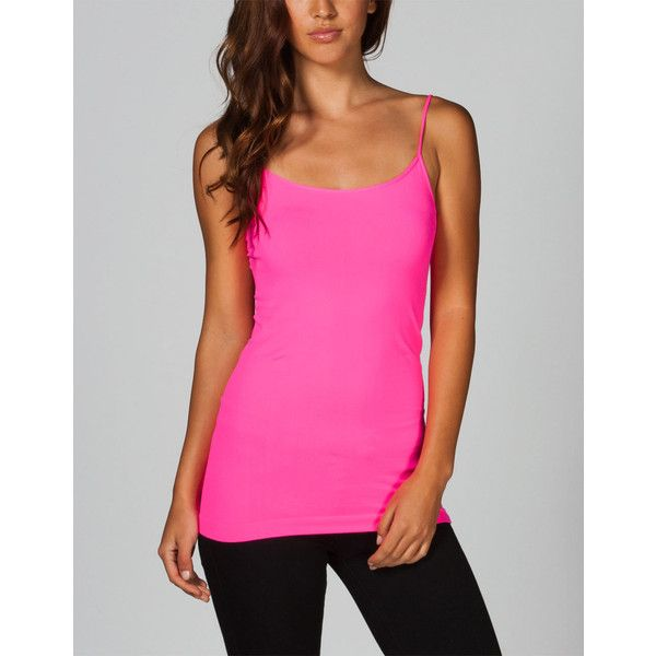 hot products unique design hot new products Full Tilt Essential Womens Seamless Cami ($4.97) ❤ liked on ...