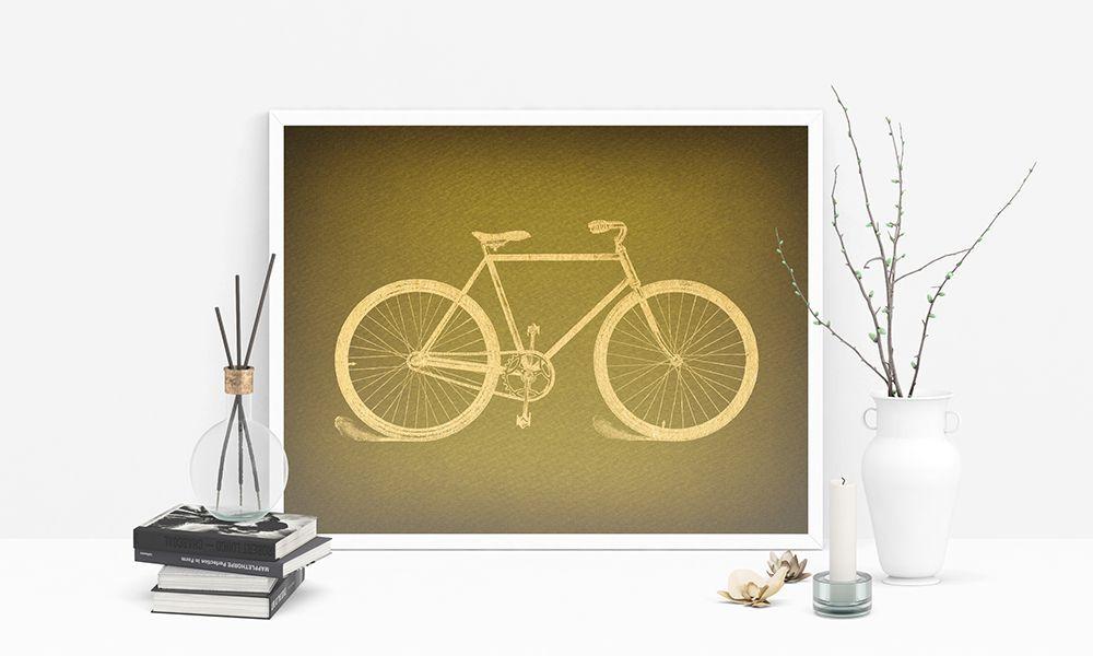 Luxury Bicycle Wall Art Decor Ornament - Art & Wall Decor ...