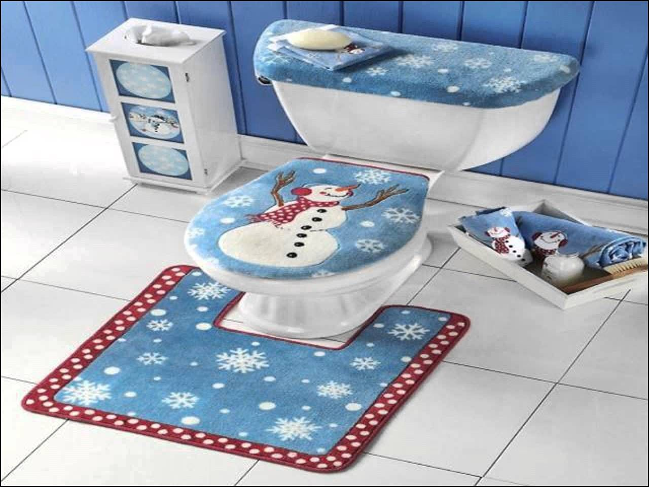 Elongated toilet Seat Cover and Rug Set   Rugs Gallery   Pinterest ...