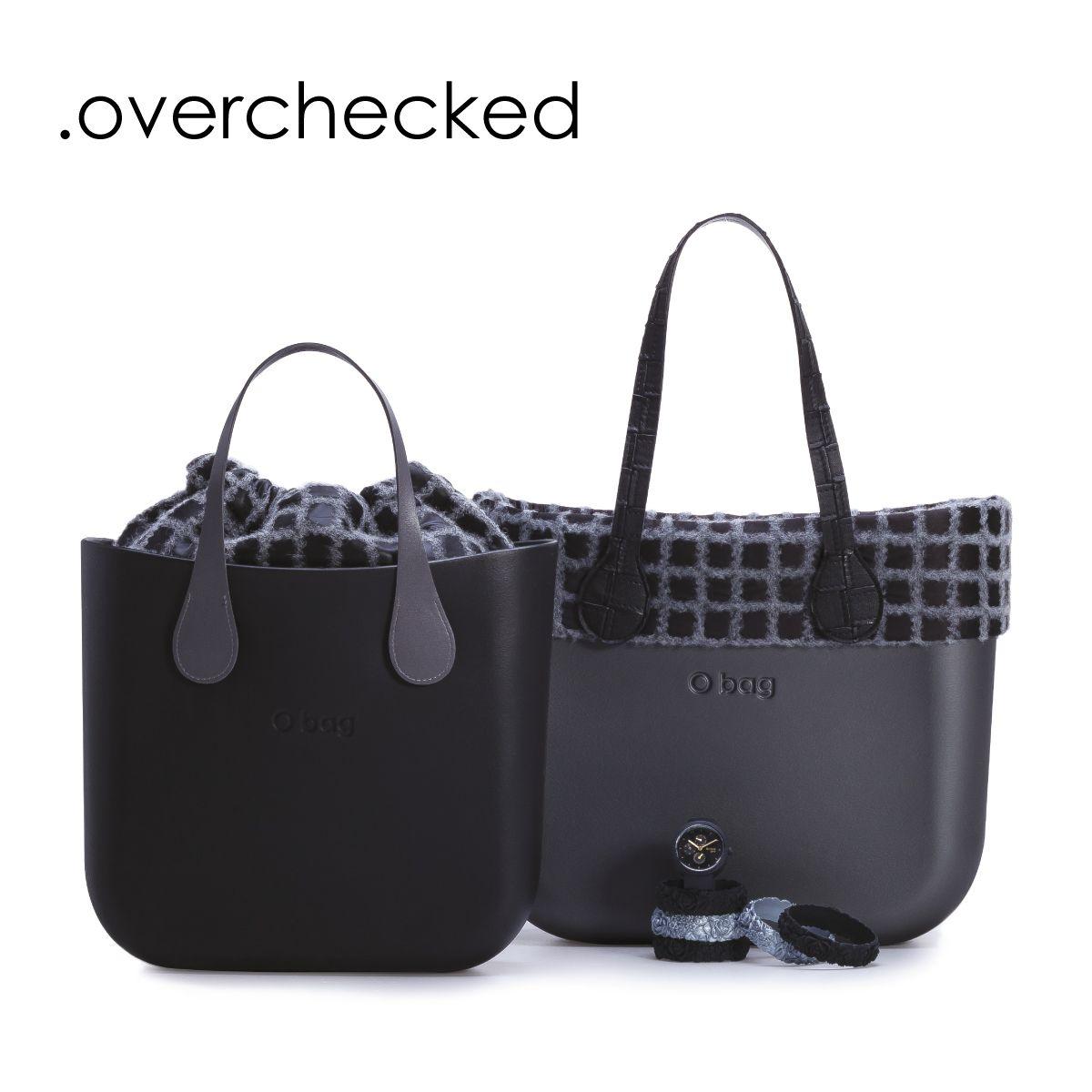 obag e o bag mini in un doppio gioco di colori dark e light effetto patchwork un tocco. Black Bedroom Furniture Sets. Home Design Ideas