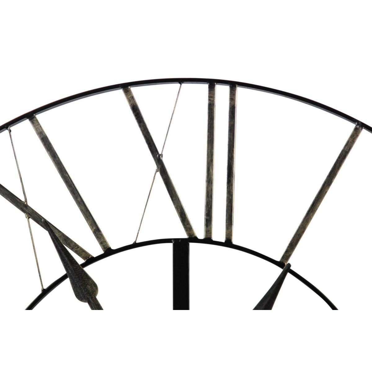 Grosse Horloge Fer Forgé grande horloge ancienne fer forgé 90cm - taille : taille
