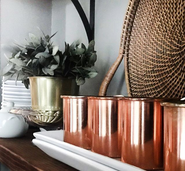 Decorating Smallspace Kitchen: Three Cheers For Mixed Metals & Mixed Drinks