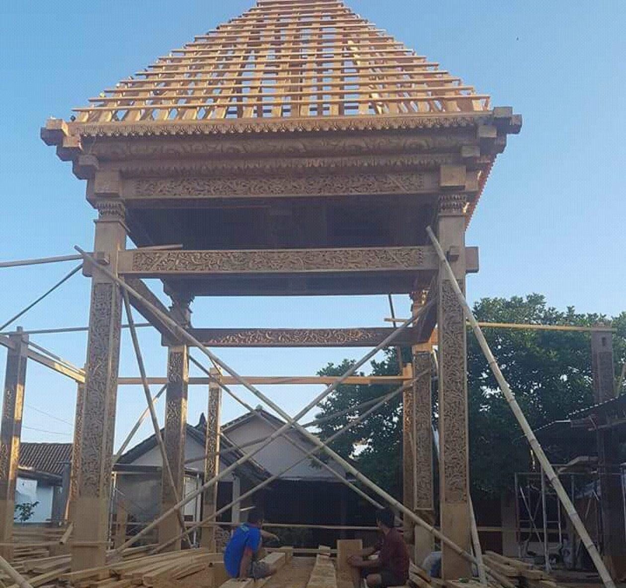 Jati Mulya Indah Rumah Kayu Desain Rumah