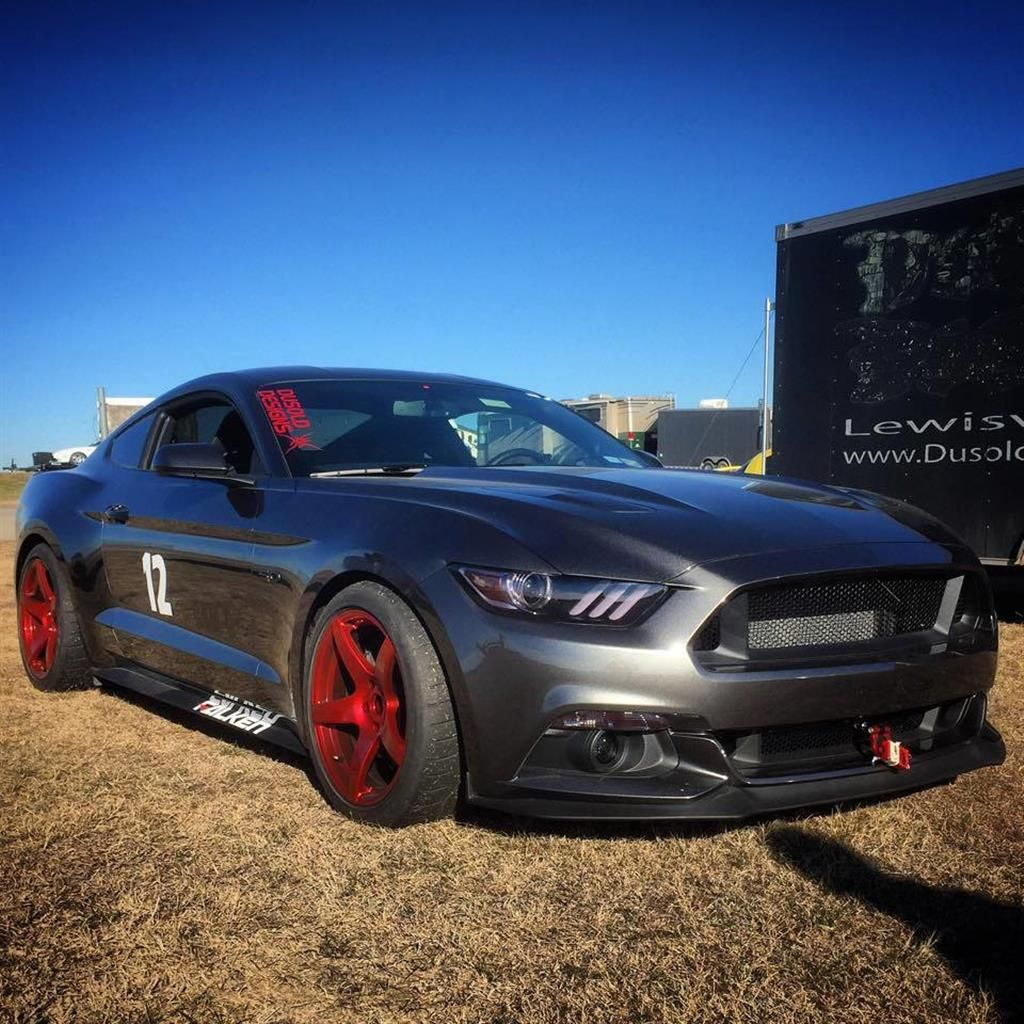 2015 Ford Mustang With Forgestar CF5 Wheels By Forgestar