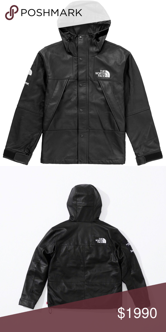 8cdfc7957102 Supreme x The North Face Leather Parka NWT FW18 Sorry no trades Tags  Kith  Versace