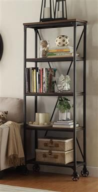 Decadent Simple Bookcases Are Available At RC Willey To Complete Your Home Office Decorate With A Mixture Of Decor Literary Practicality Millwood