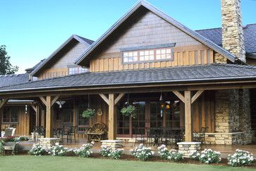 Simple Farm House Design Ideas Pictures Remodel And Decor Ranch House Exterior House Exterior Rustic House