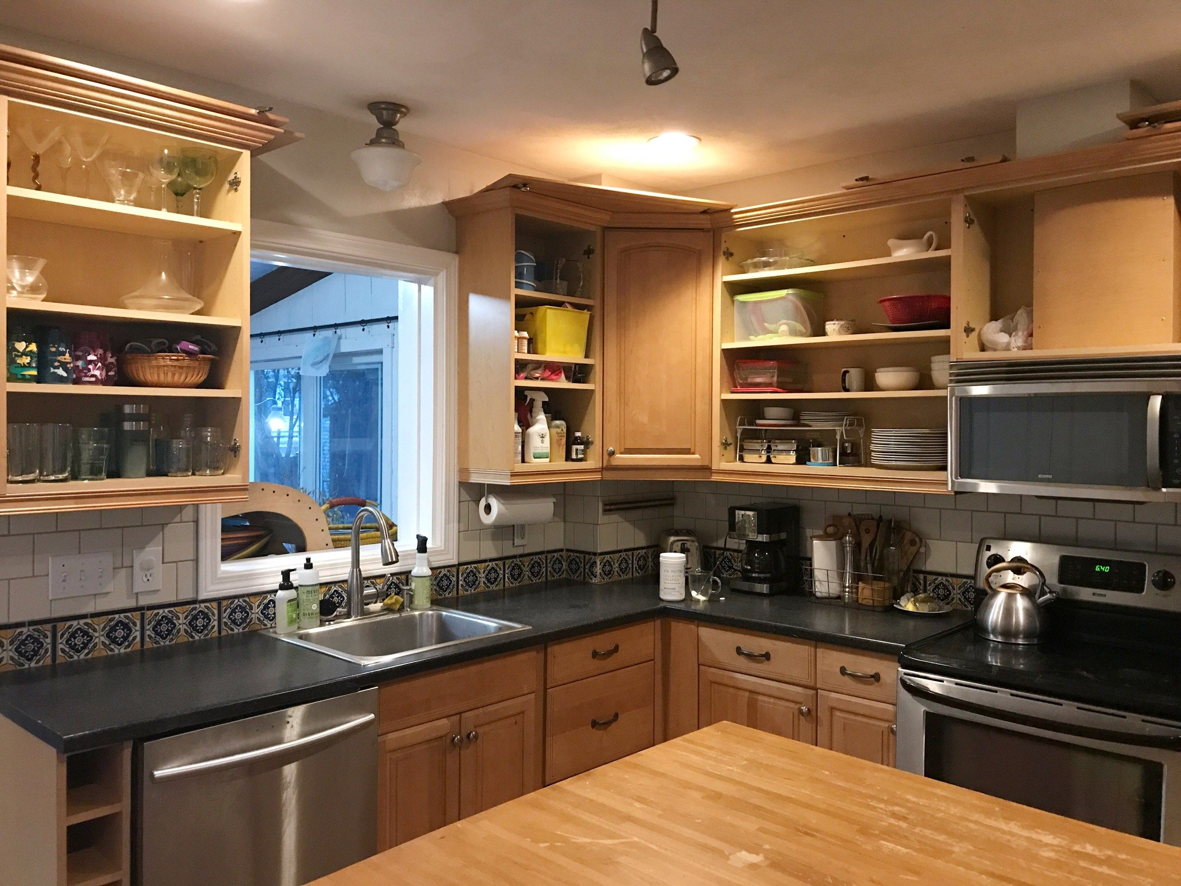 HOW TO PAINT YOUR KITCHEN CABINETS WITH MILK PAINT (& LIVE ...