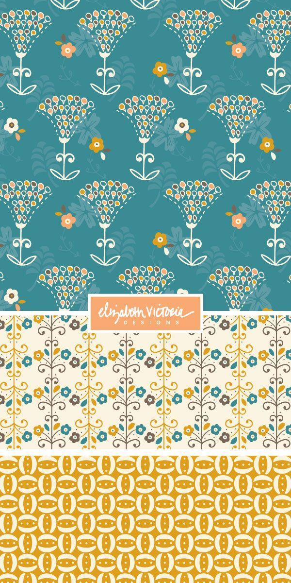 PORTFOLIO-PRIVATE — Beth Schneider - Surface Pattern Design #surfacepatterndesign