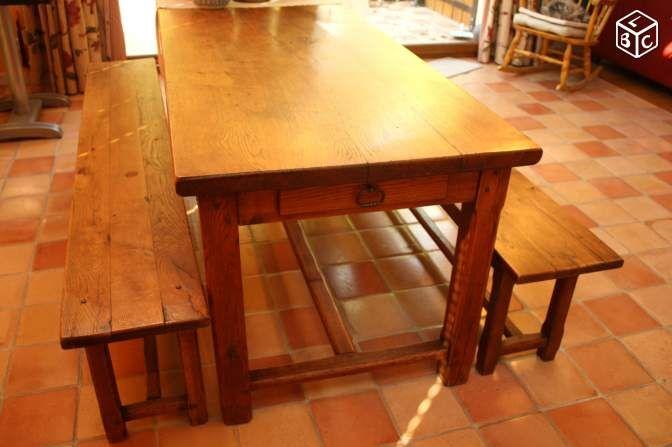 Table de ferme ancienne Ameublement Yvelines - leboncoinfr