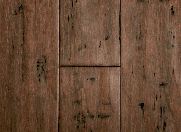 Bamboo Flooring Rustic Clove Strand Distressed Wide Plank Solid
