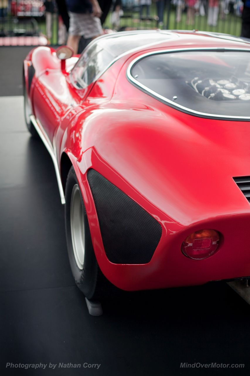 Alfa Romeo Tipo 33 Stradale Rear Italian Cars Pinterest Amelia