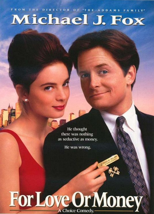 For Love Or Money Aka The Concierge 1993 For Love Or Money Hd Movies Download Money Poster