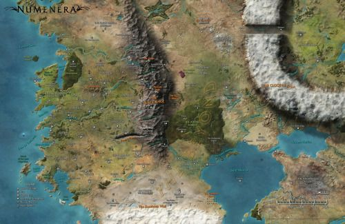 tides of numenera world map Torment Tides Of Numenera World Of Fantasy Map Photo