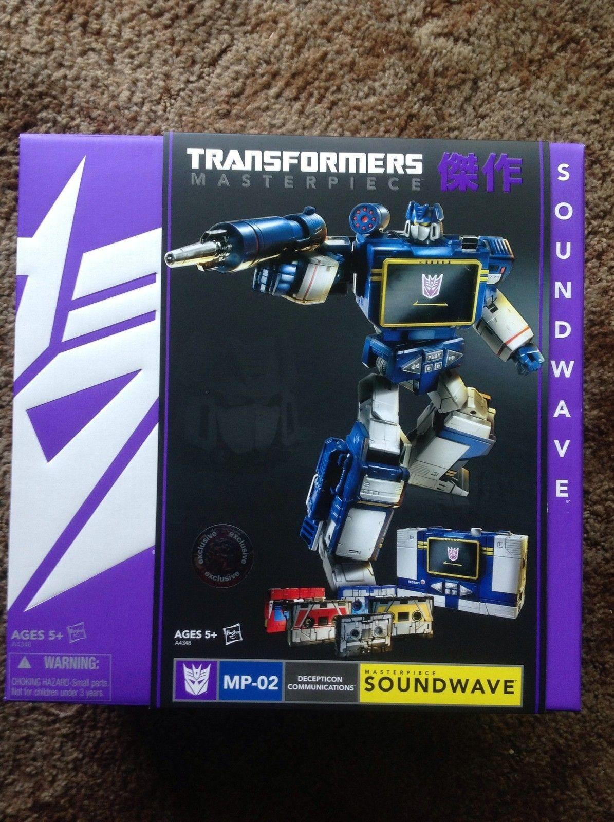 MP-02 Masterpiece Soundwave