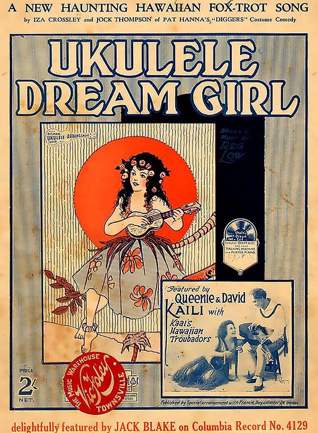 Pin By John Donch On Ukulele Imagery Pinterest Vintage Sheet
