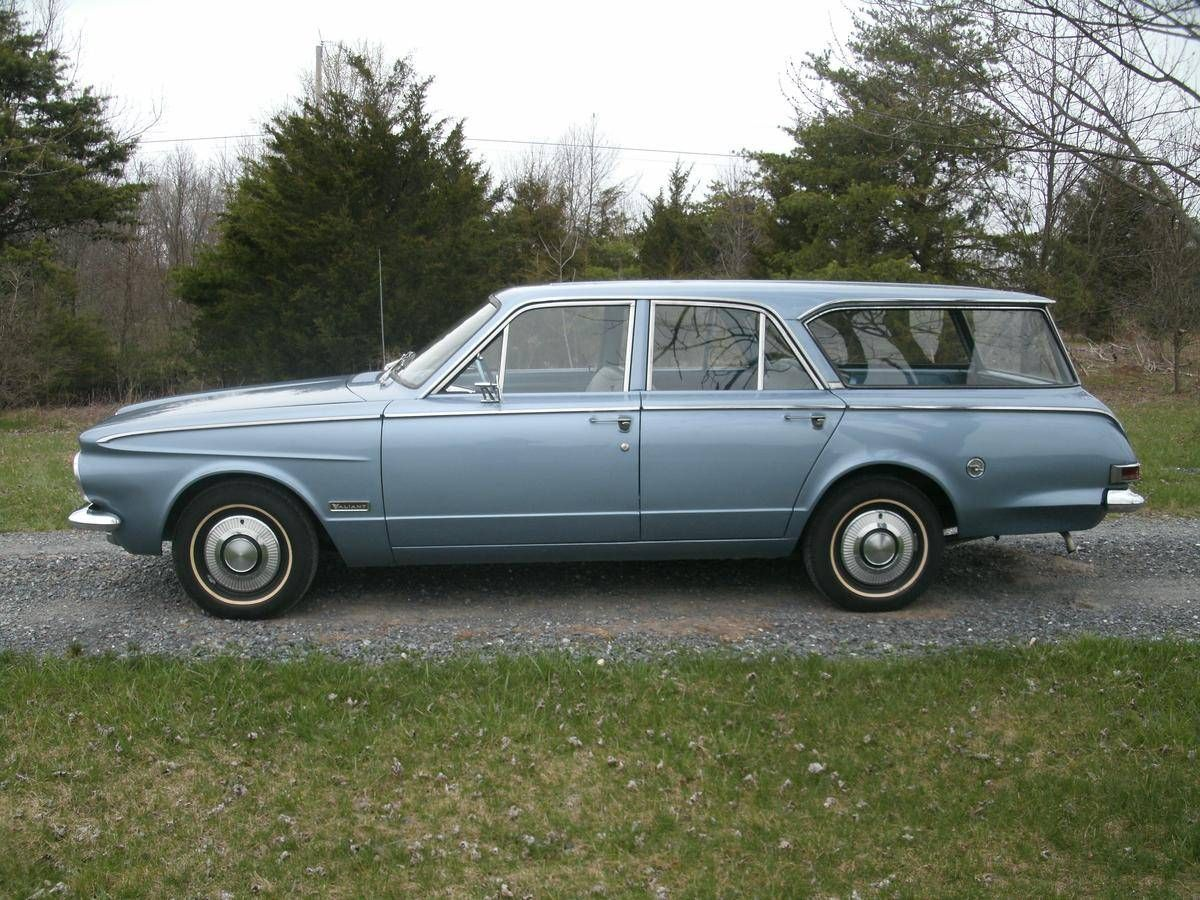 1963 Plymouth Valiant Station Wagon V 200 For Sale 1867592