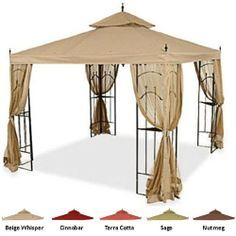 Arrow Gazebo Replacement Canopy This Actually Would Fit I Don T Know How I Would Get It Onto The Top Gazebo Replacement Canopy Gazebo Replacement Canopy