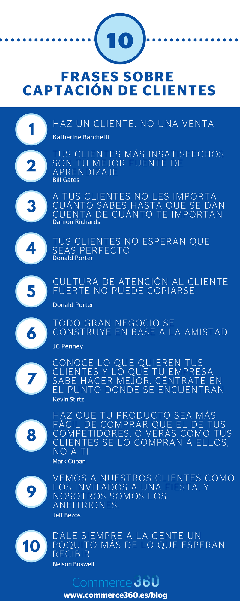 10 Frases Para Captar Clientes Infografia Marketing Citas