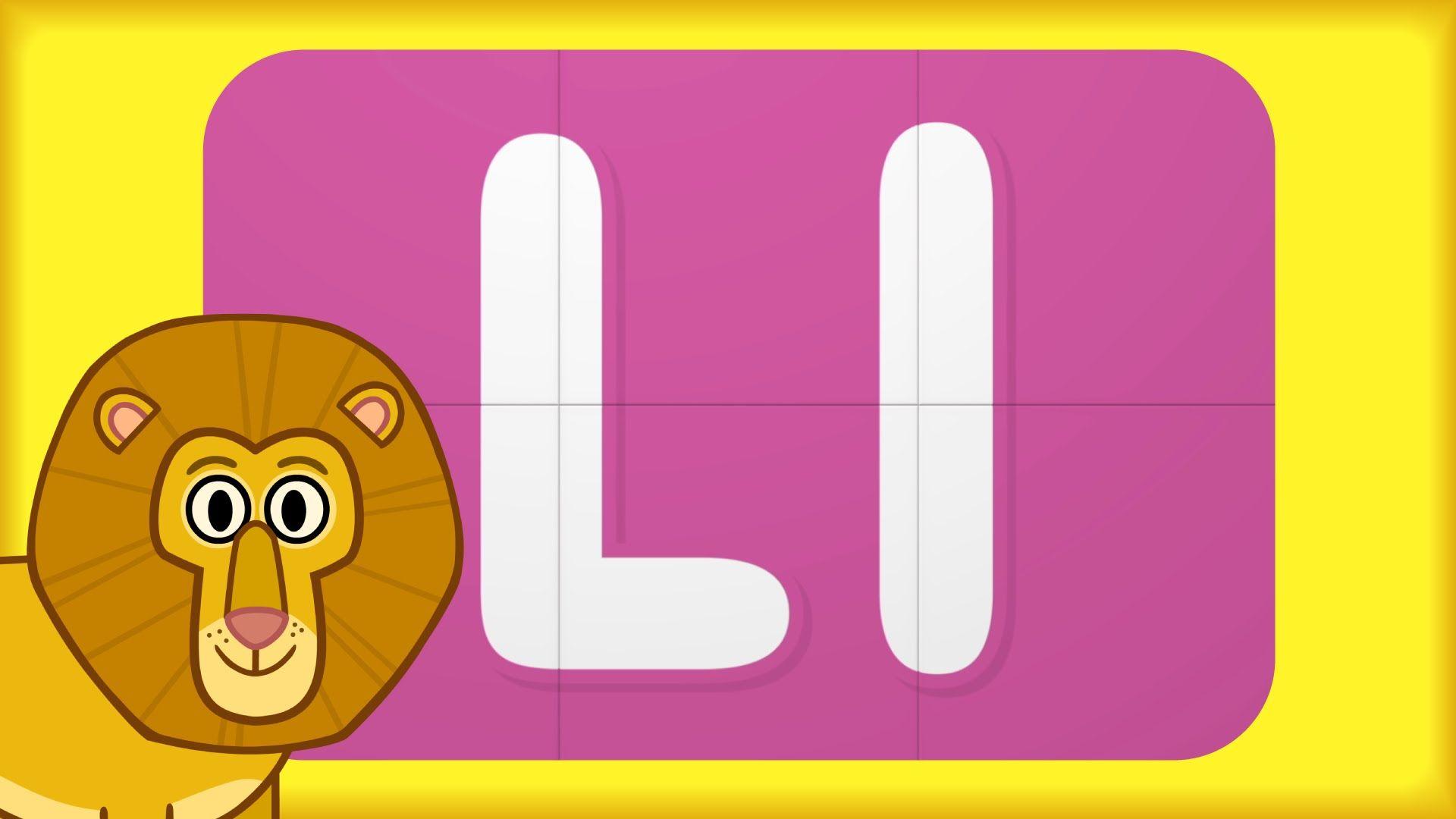 Alphabet Surprise | Turn & Learn ABCs | Learn Letter L | Английский ...