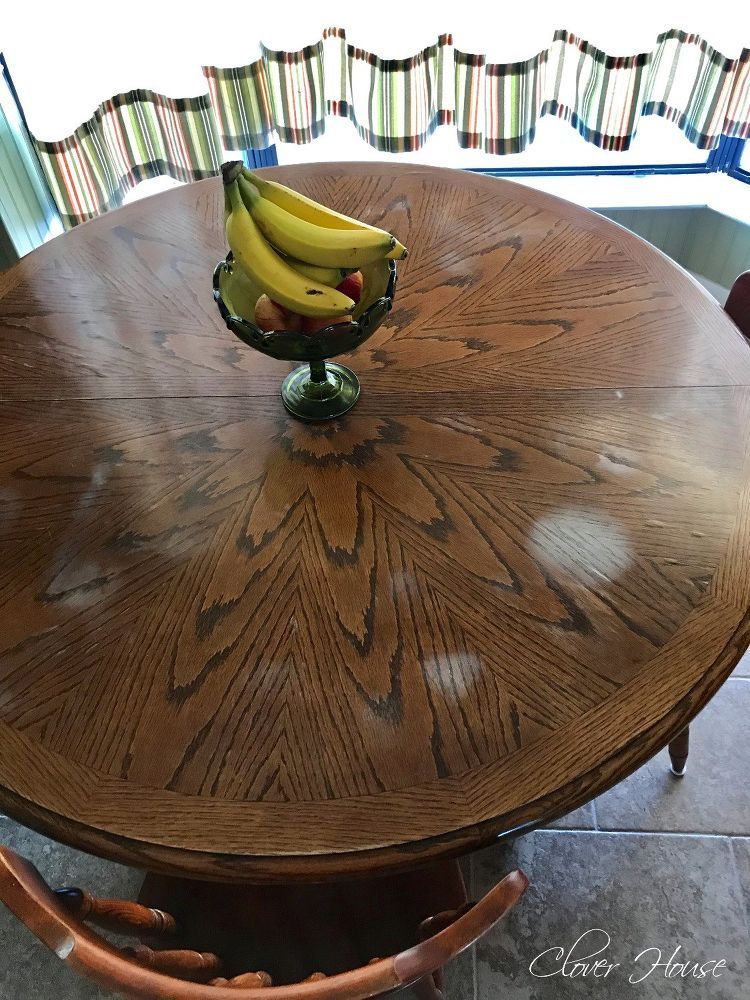 Removing White Heat Marks From Your Table Top Solid Wood Table